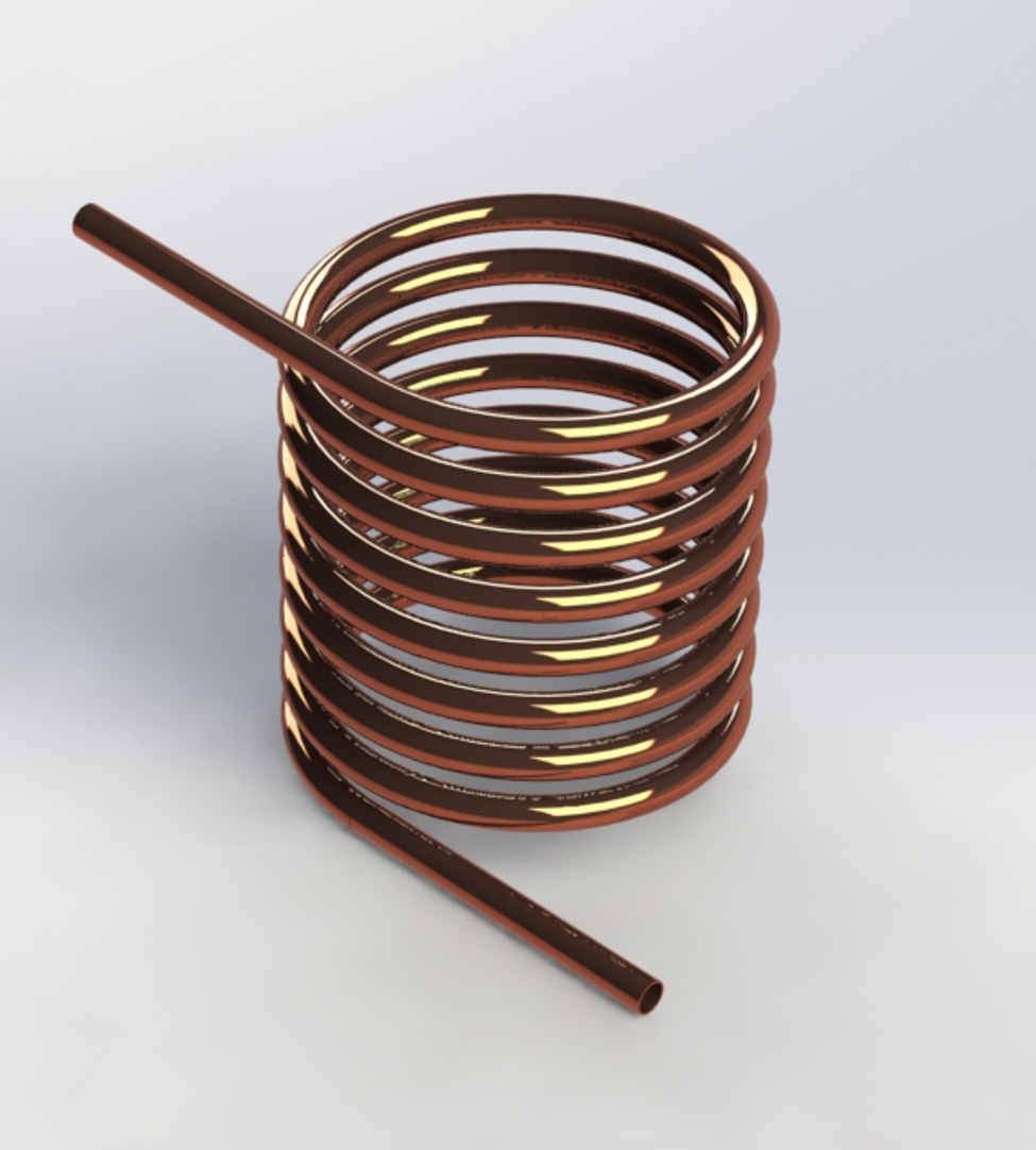 Photo of Double Tangent Coil
