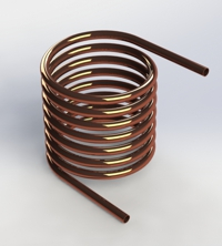 Photo of Helical Coil Double Tangent Unidirectional Leads