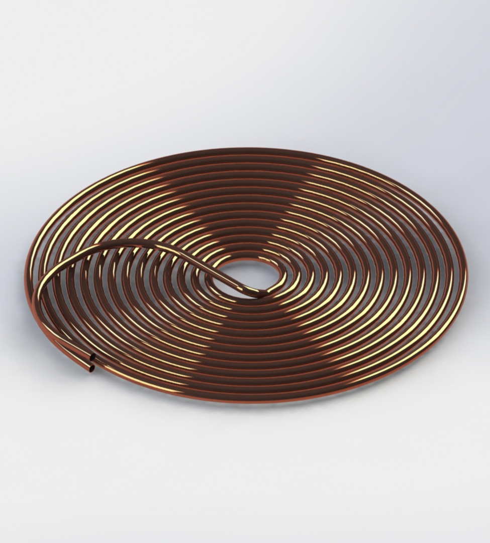 Photo of Pancake Spiral Coil With Standard Leads